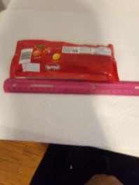 Skittles with ruler